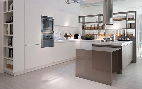 Итальянская кухонная мебель: модульный кухонный остров