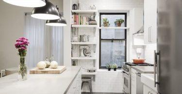 Как обновить старую небольшую кухню