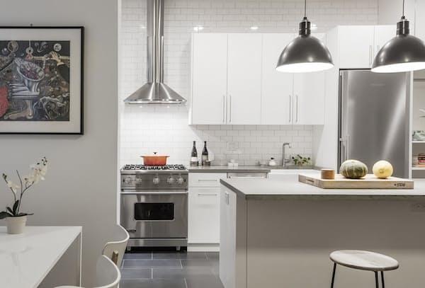 Как обновить старую кухню - элементы индустриального стиля