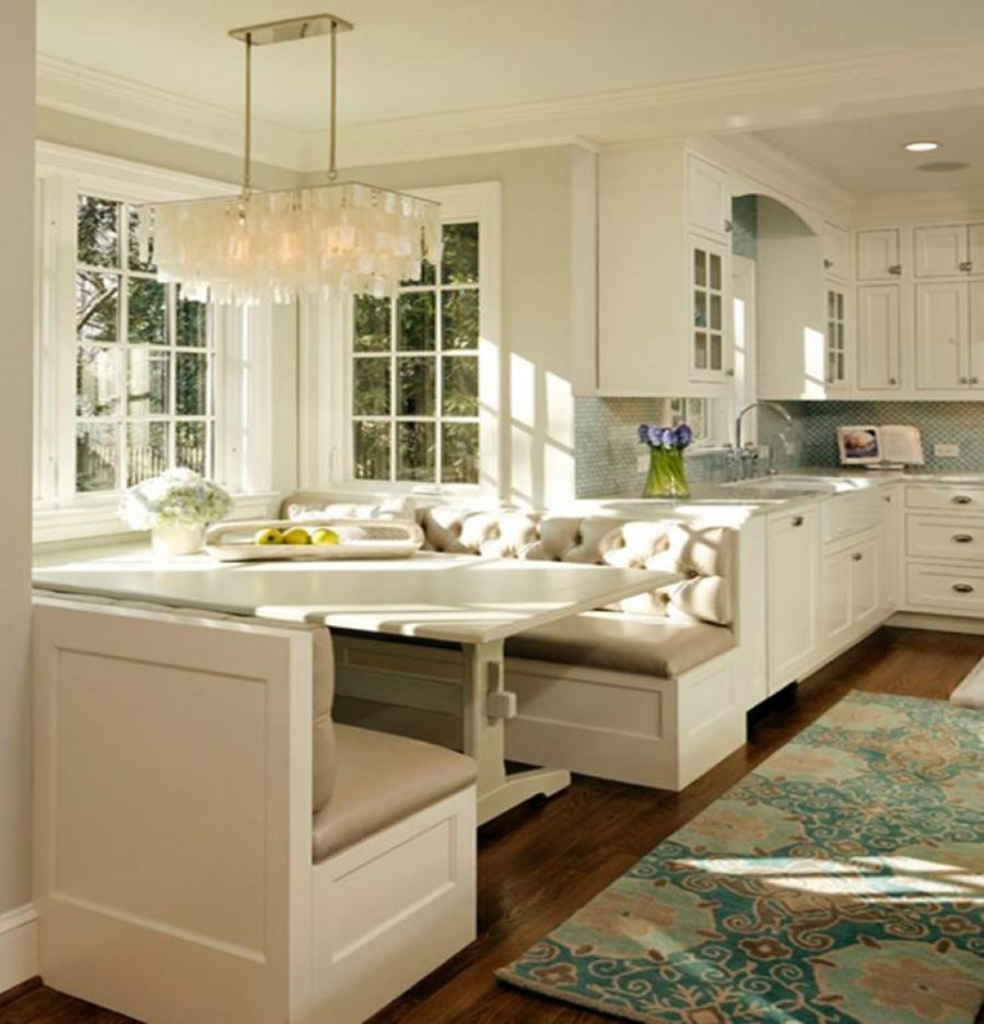 Как обустроить обеденную зону на кухне - Фото 11