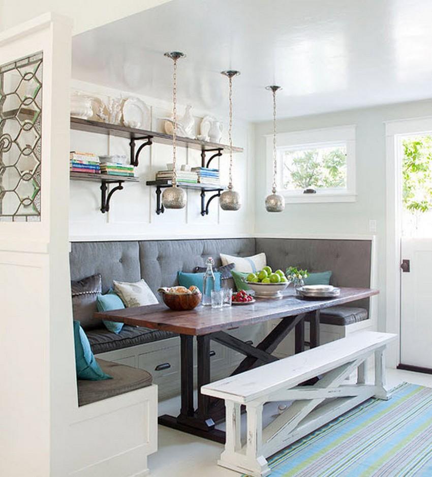 Как обустроить обеденную зону на кухне - Фото 22