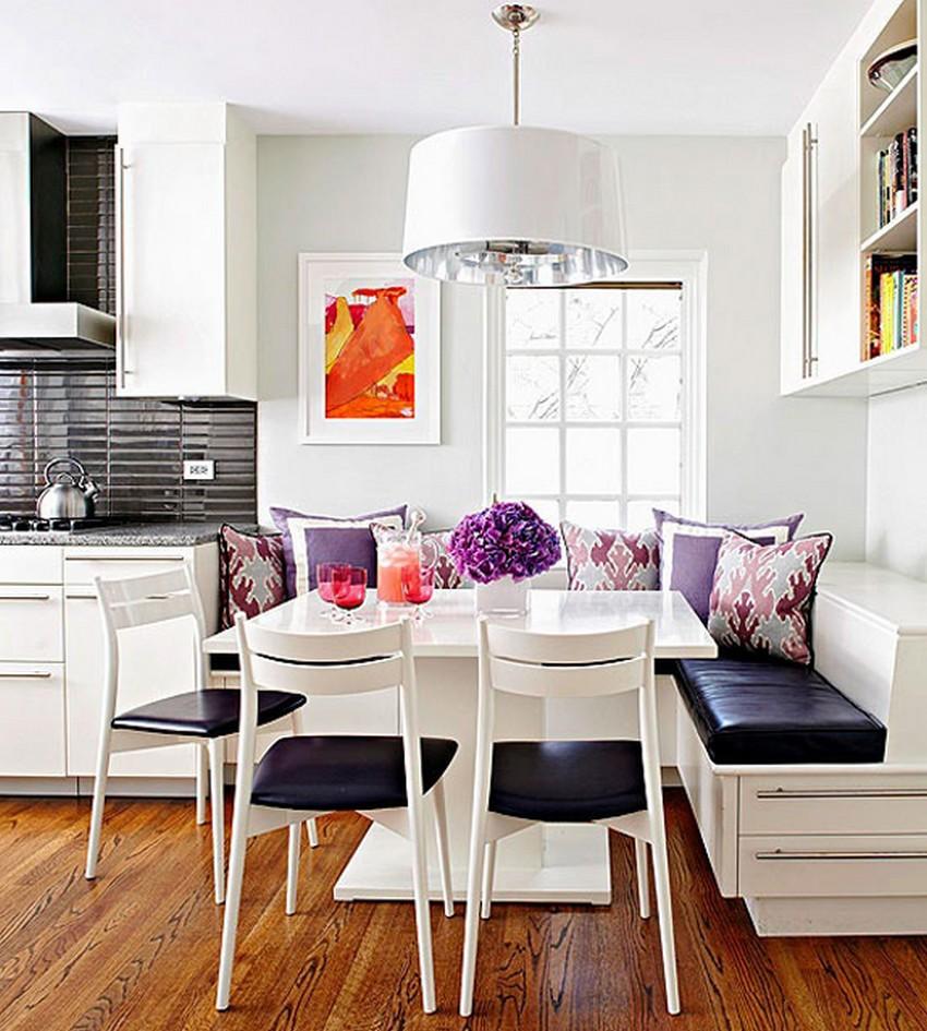 Как обустроить обеденную зону на кухне - Фото 35