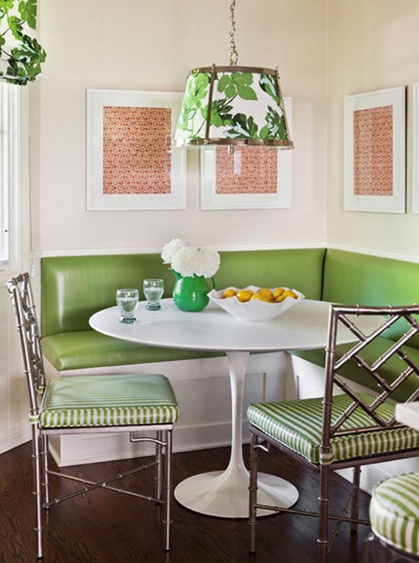 Обустройство обеденной зоны на кухне - Фото 9
