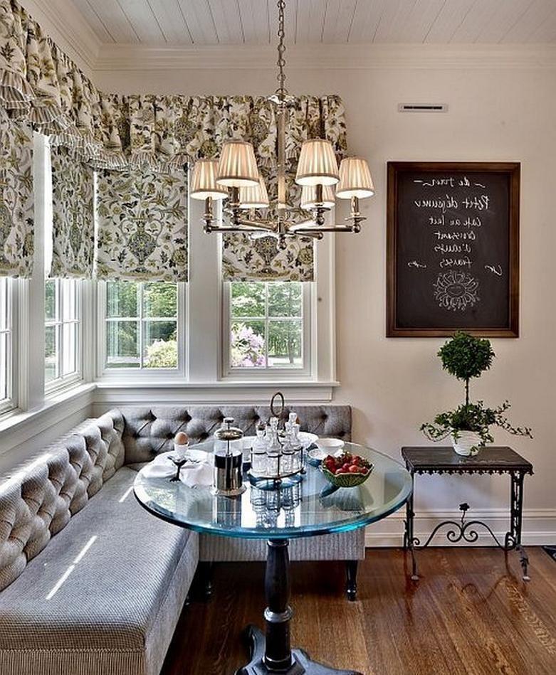 Обустройство обеденной зоны на кухне - Фото 39