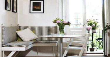 Как обустроить на кухне обеденную зону - Фото примеры