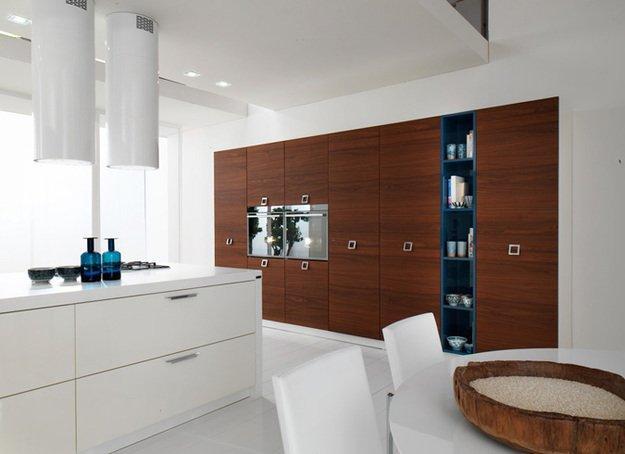 Стильный дизайн интерьера кухни от Софи Му