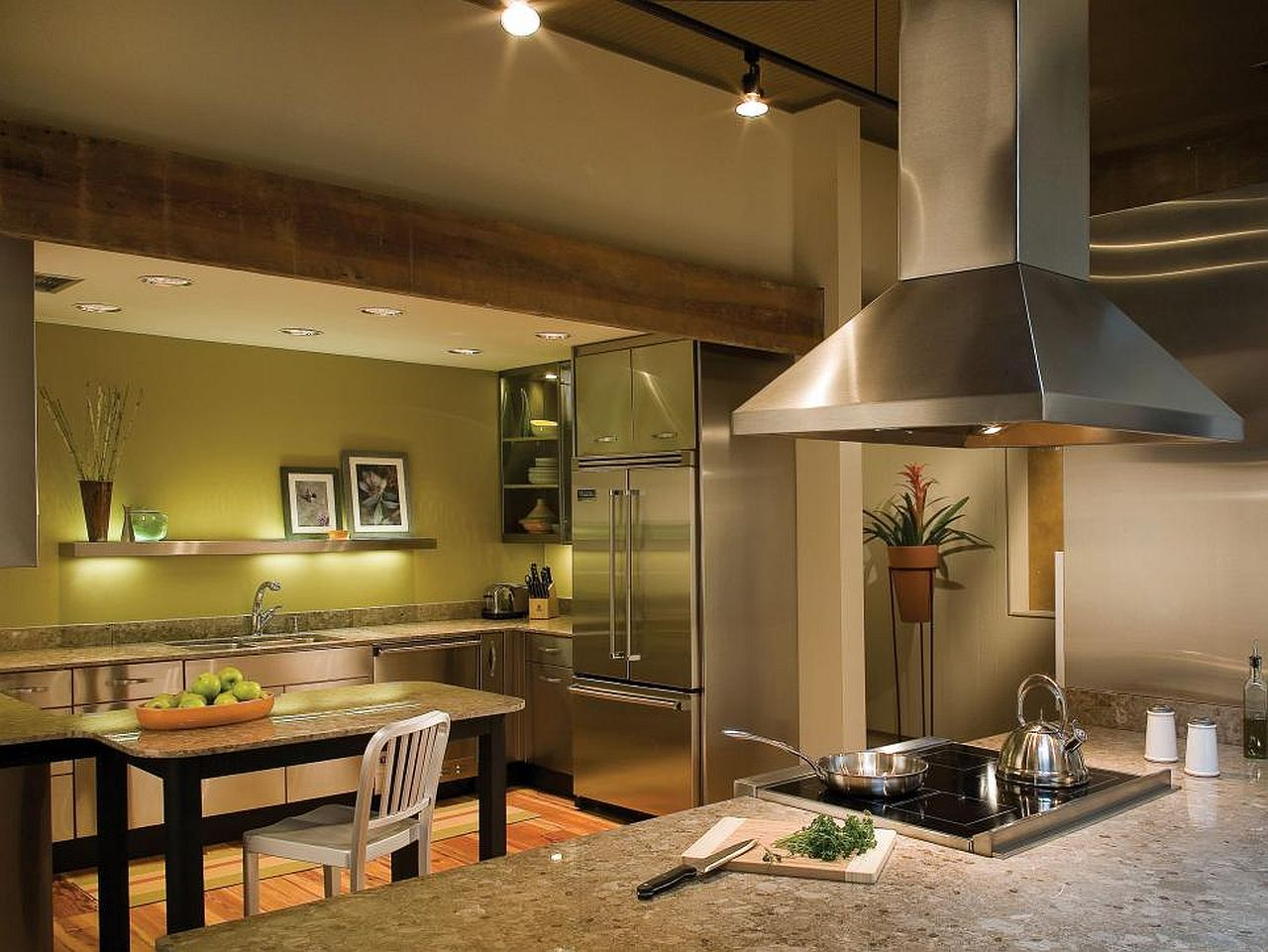 Какой цвет для кухни выбрать? Тренды 2017 года: зелёный