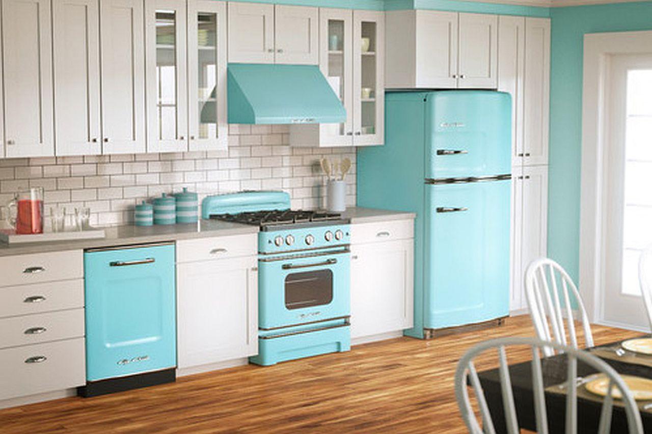Какой цвет для кухни выбрать? Тренды 2017 года: ретро