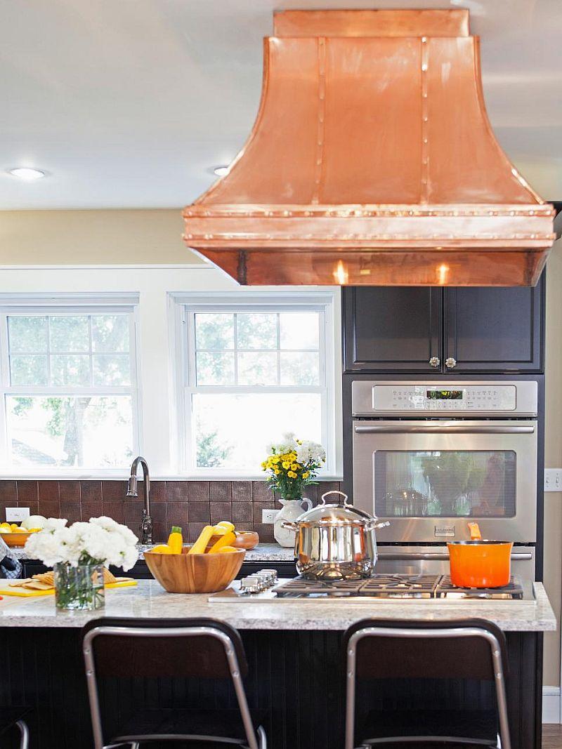 Какой цвет для кухни выбрать? Тренды 2017 года: нержавейка, тёмный цвет и яркая вытяжка