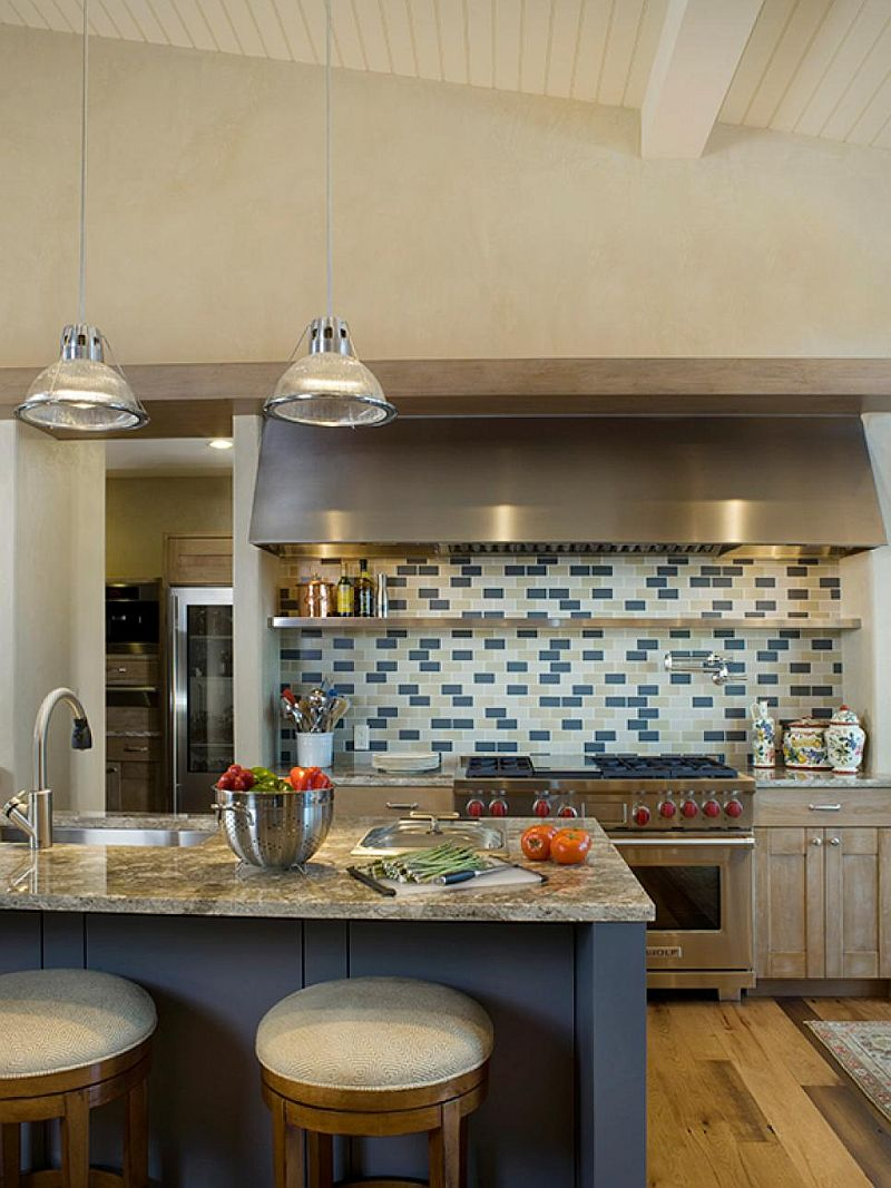 Какой цвет для кухни выбрать? Тренды 2017 года: тёмно-синий