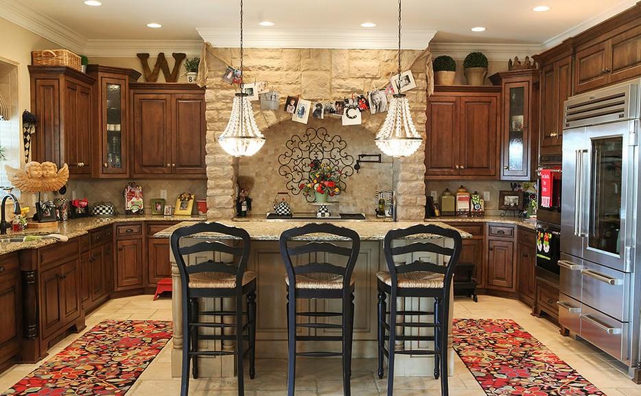 Камень в интерьере современной кухни - фото 2
