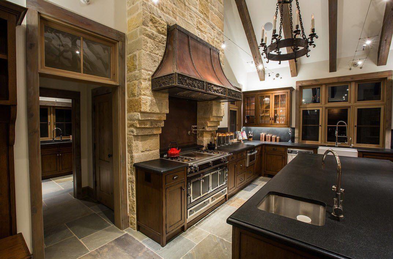 Камень в интерьере современной кухни - фото 4