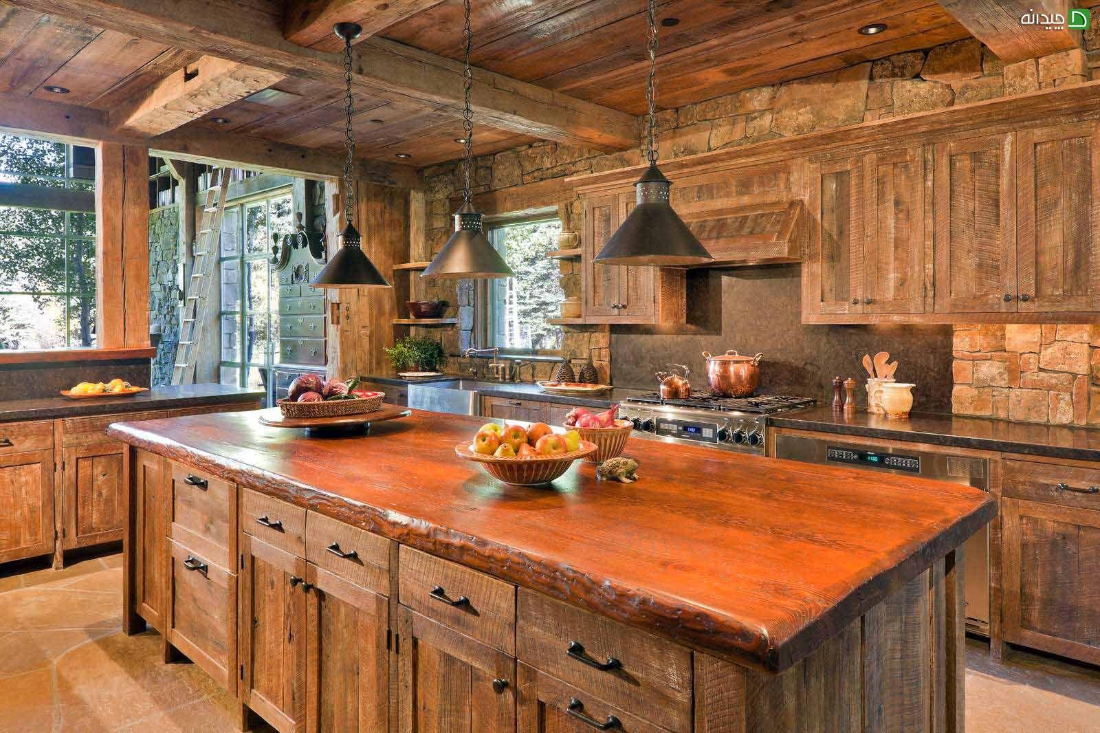 Камень в интерьере современной кухни - фото 9