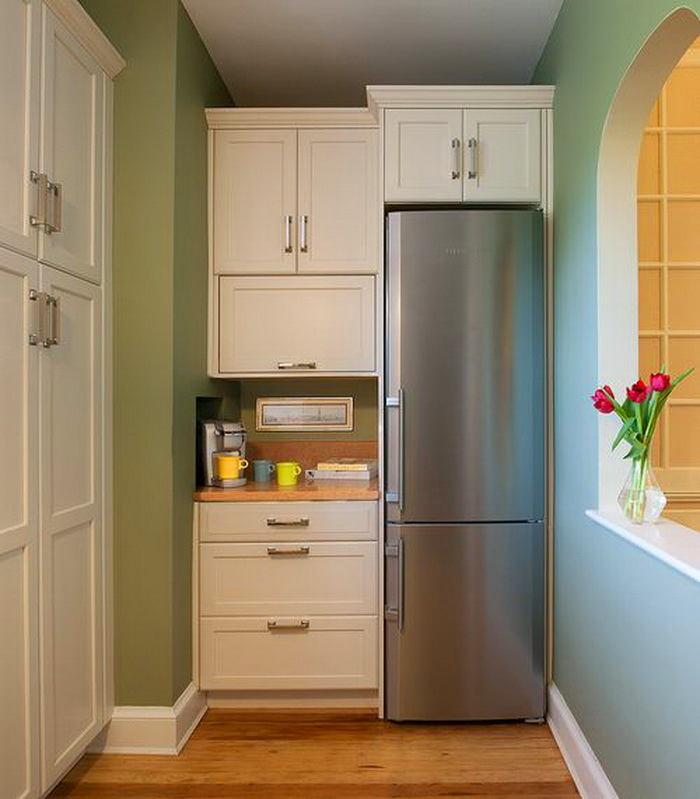 На кухне ниша как сделать