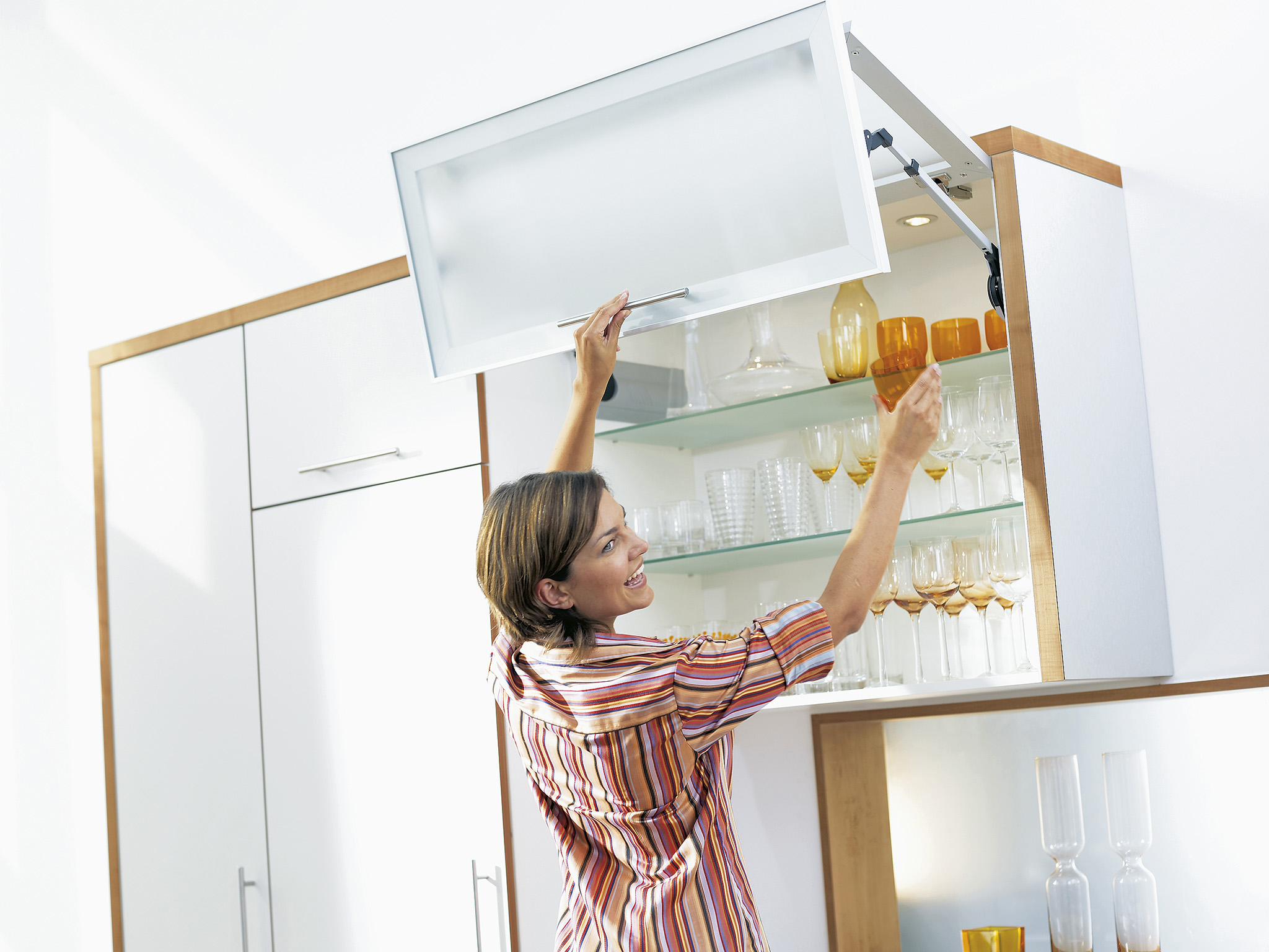 Организация кухонного пространства - идеи хранения