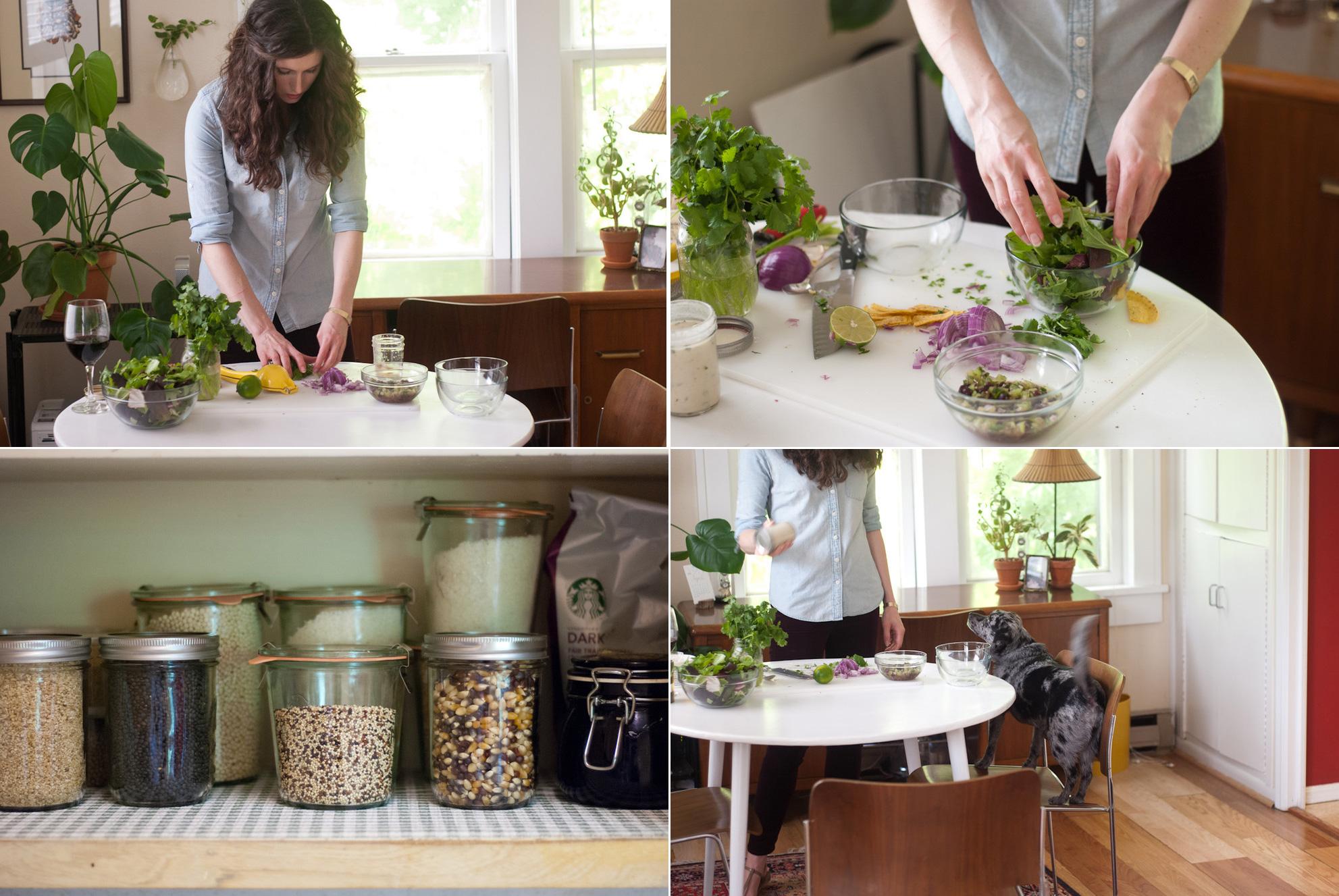 Оригинальные идеи для маленькой кухни от домохозяйки Кейт