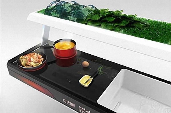 Необычный экодизайн кухни Aion от Fagor Brandt Group