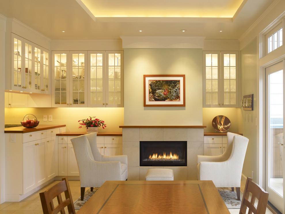 Светодиодная подсветка в интерьере кухни от Gast Architects