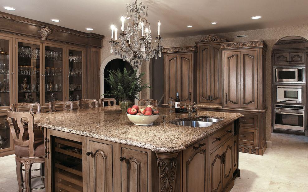 Светодиодная подсветка в интерьере кухни