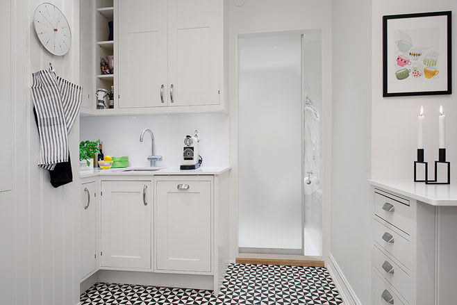 Скандинавский стиль в дизайне интерьера кухни