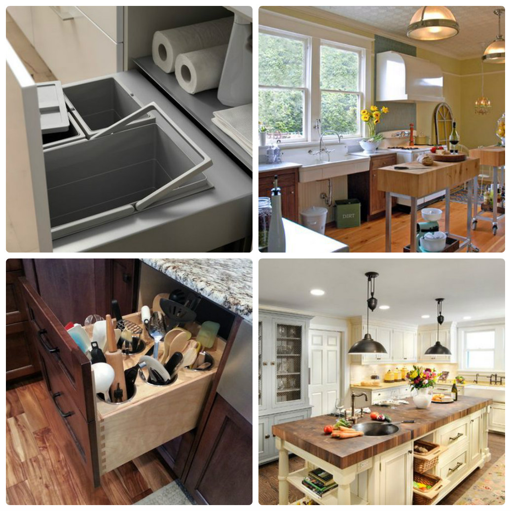Идеи для обустройства кухни