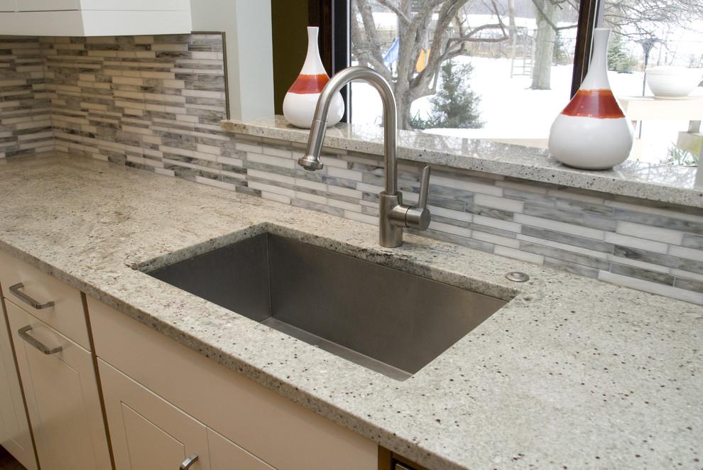Мраморная кухонная столешница от Bianco Romano