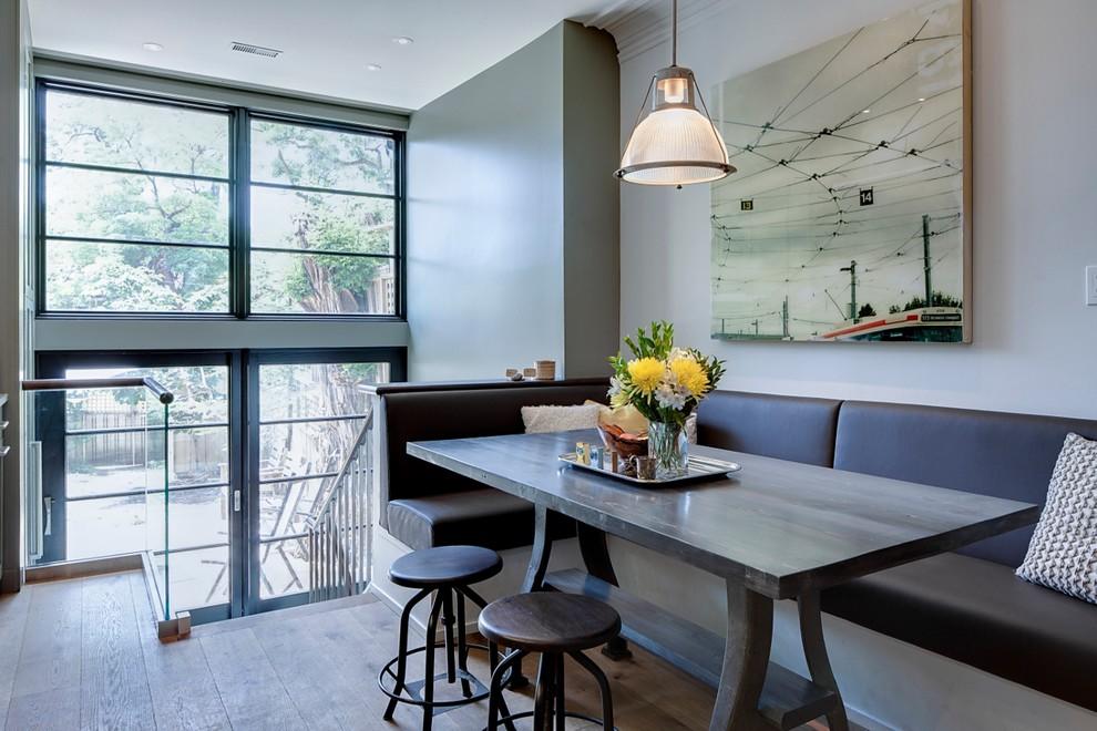 Банкетки для кухни: включение в интерьер углового пространства