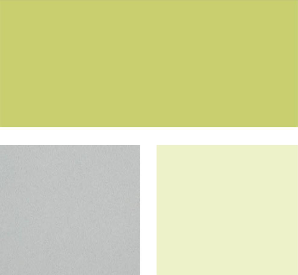 Палитра оттенков светло-зелёного цвета и нейтральных тонов
