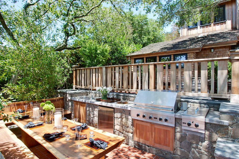 Обустройство временной кухни на свежем воздухе