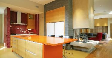 Потрясающий дизайн интерьера кухни