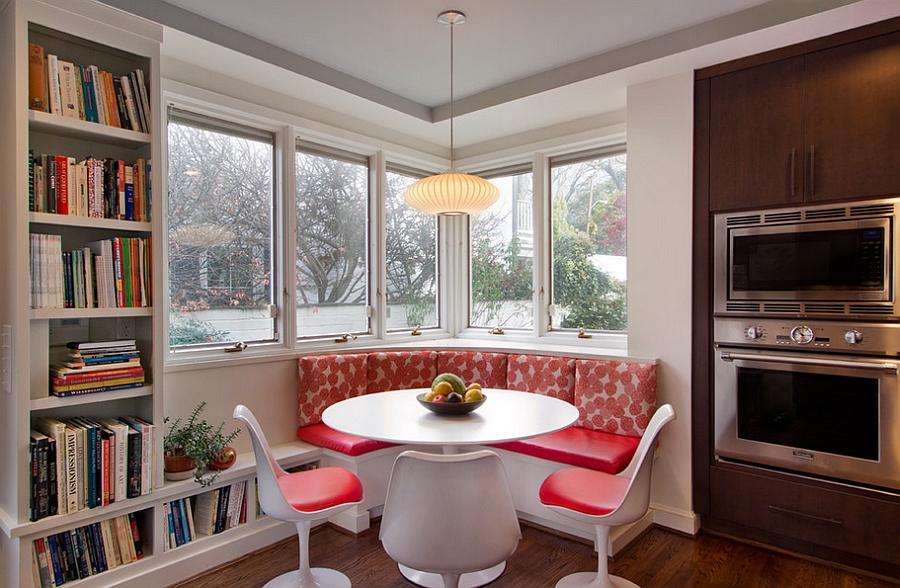 Кухня с двумя окнами идеи