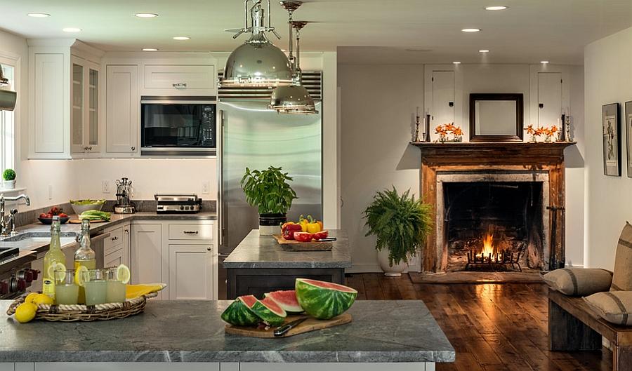 Дизайн угловой кухни: 10 необычных идей