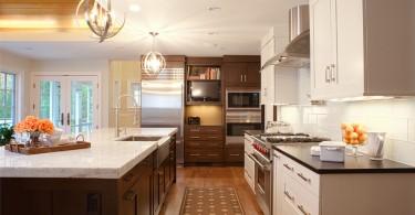 Современное оформление кухни от студии Aidan Design