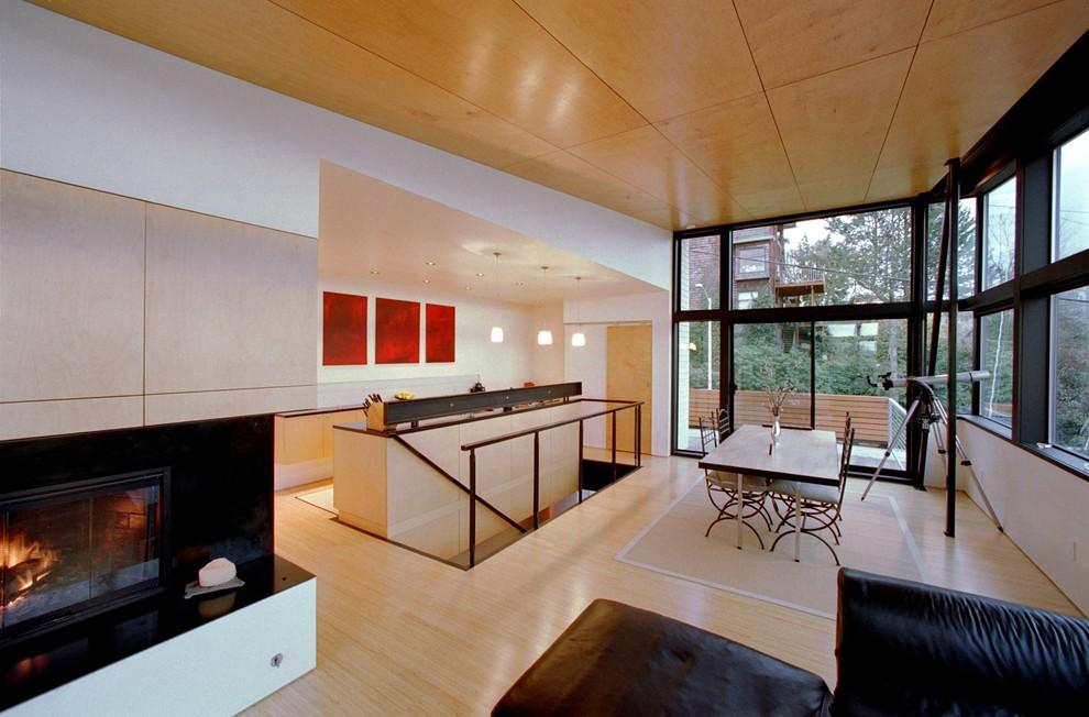 Оригинальный дизайн интерьера кухни от студии Eggleston Farkas Architects