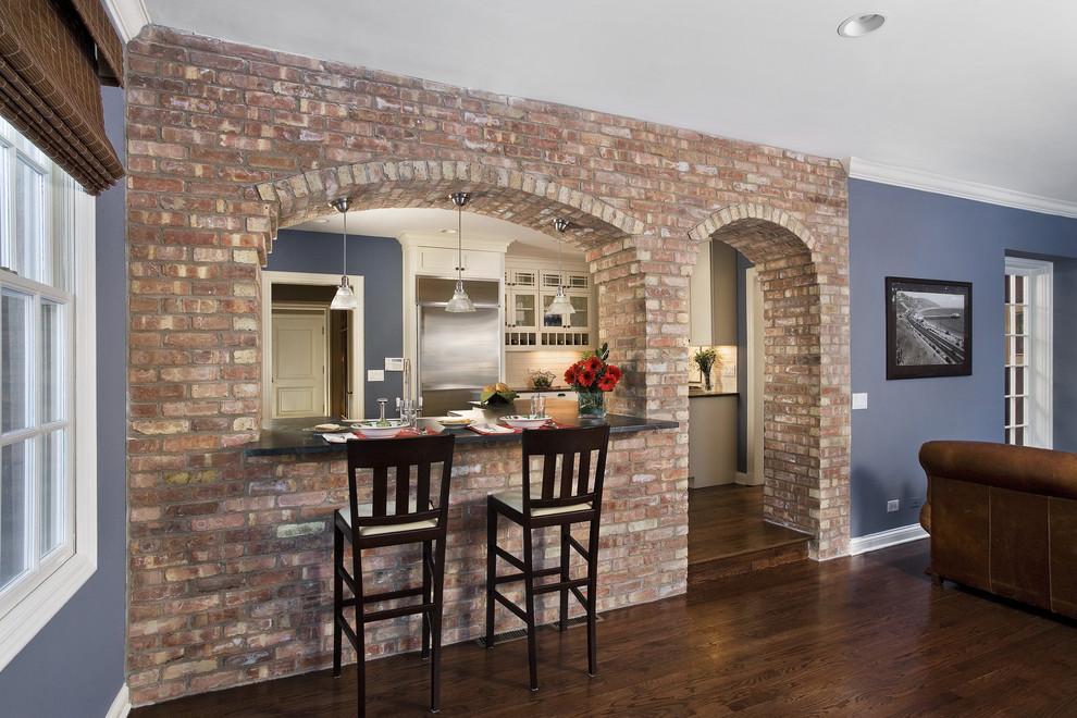 Kitchen living room divider