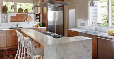 Элегантное оформление кухни от студии NB Design Group