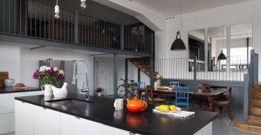 Стильный дизайн интерьера кухни-столовой от Trunk Creative Ltd
