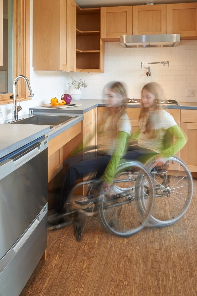Кухня для инвалида