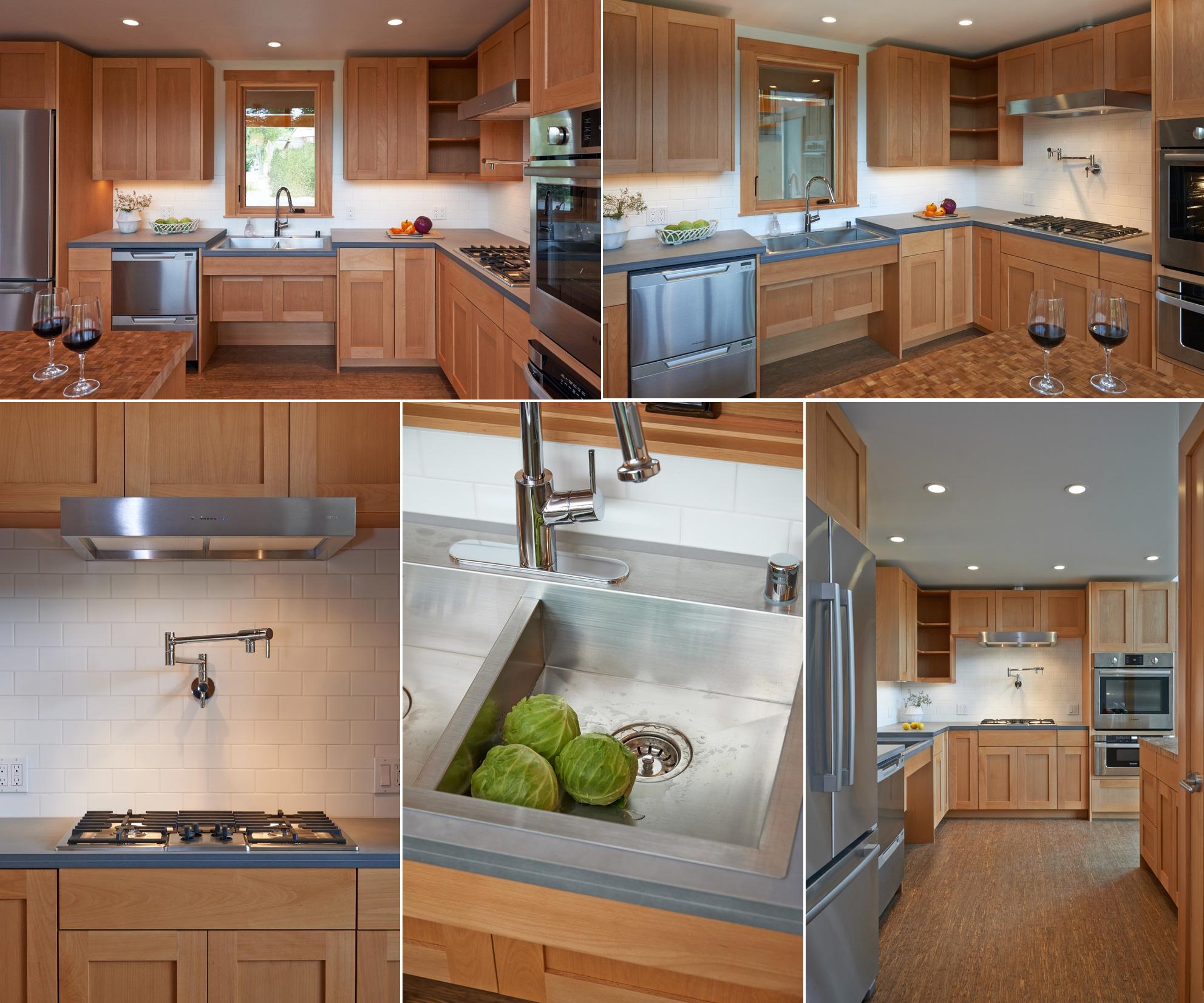 Дизайн кухни в доме человека с ограниченными возможностями