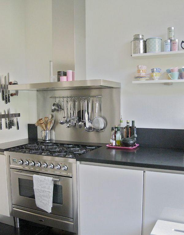 Подвесная конструкция для хранения кухонных принадлежностей