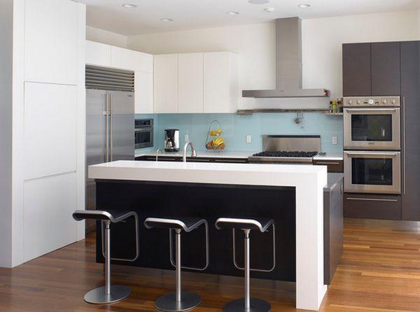 Встроенные СВЧ-печи в интерьере кухни