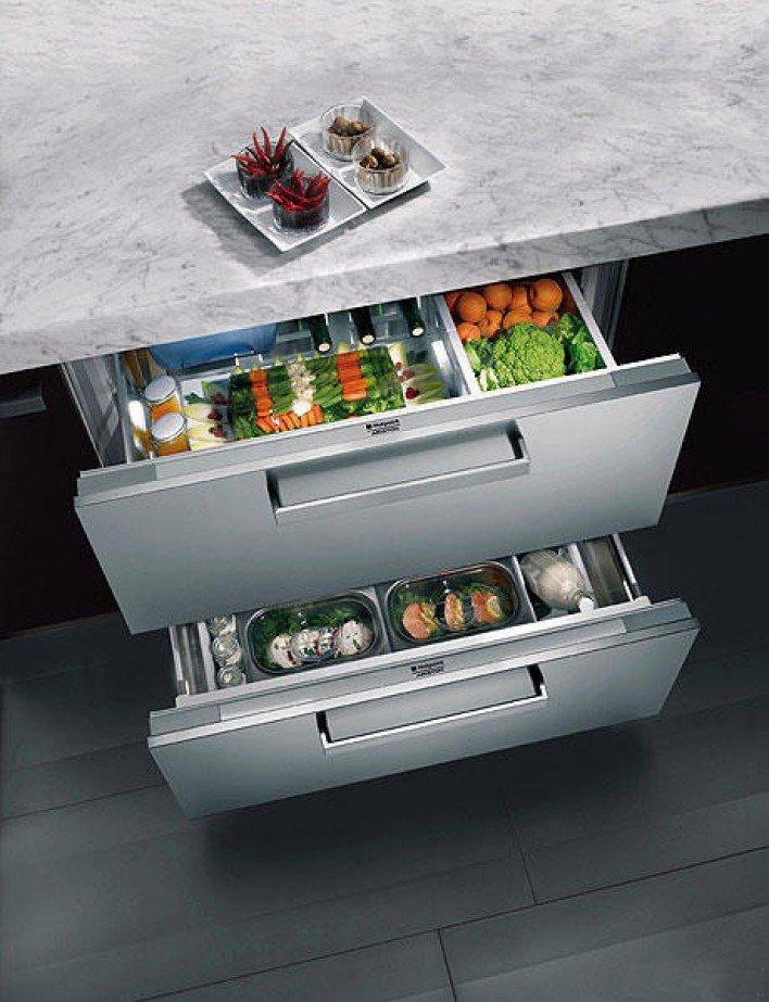 Выдвижной кухонный ящик для хранения аксессуаров