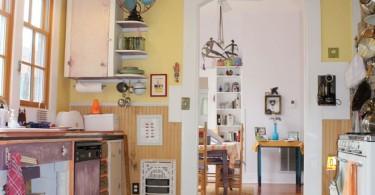 Причудливый дизайн кухни в стиле эклектика от Robert Mace