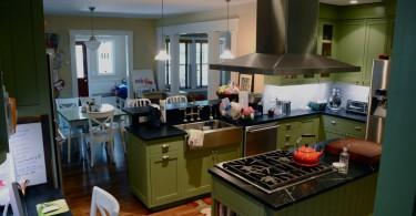 Уютное убранство кухни от дизайнера Sarah Kravits