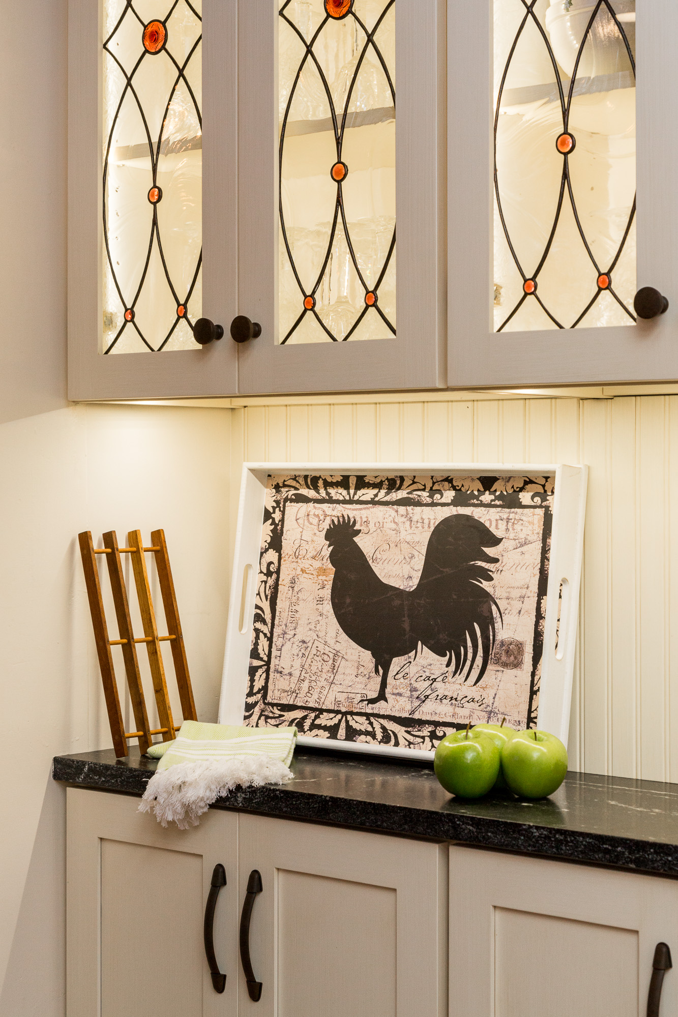 Картина с петушком для декора кухни