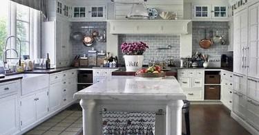Стильный дизайн интерьера кухни от Susan Serra