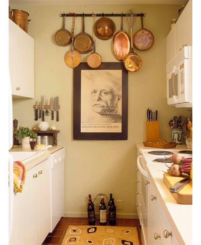 Хранение сковородок на кухне