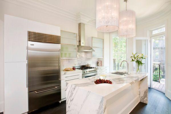 Стильный кухонный остров