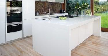 Креативный дизайн кухонного острова