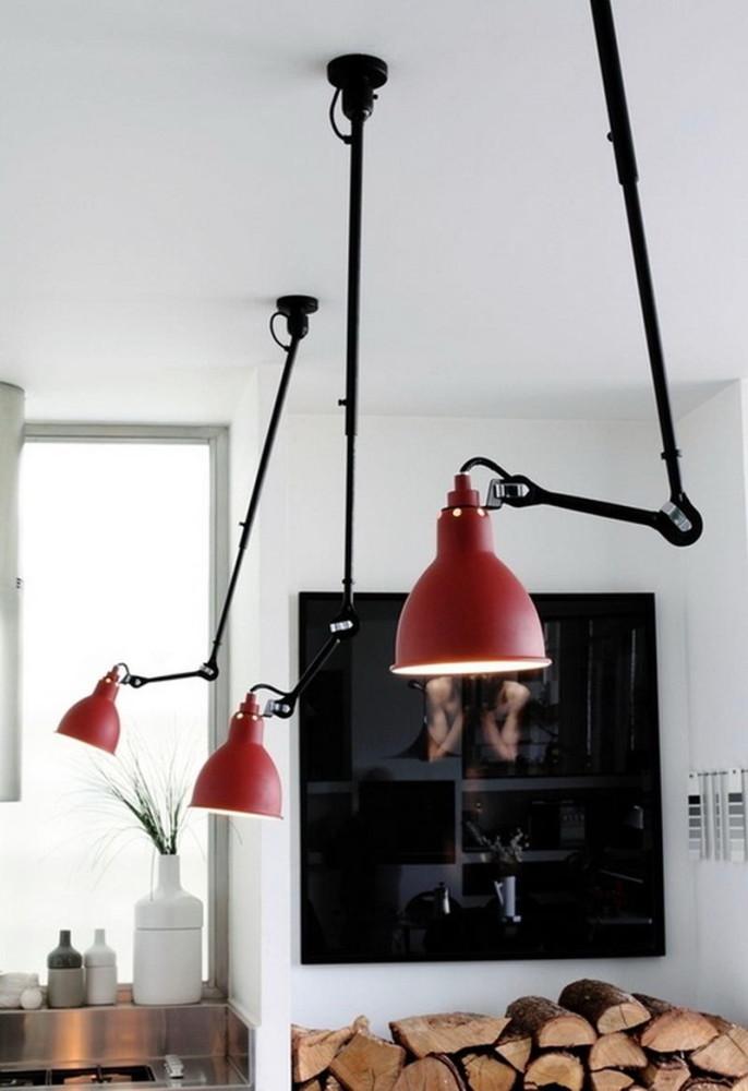 Светильники на кухне из коллекции Lampe Gras